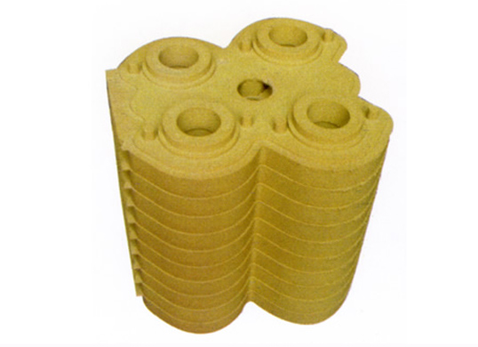 Coated sand mud core
